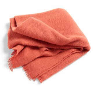 Mono Wool Blanket - Rosehip