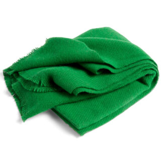Mono Wool Blanket - Grass Green