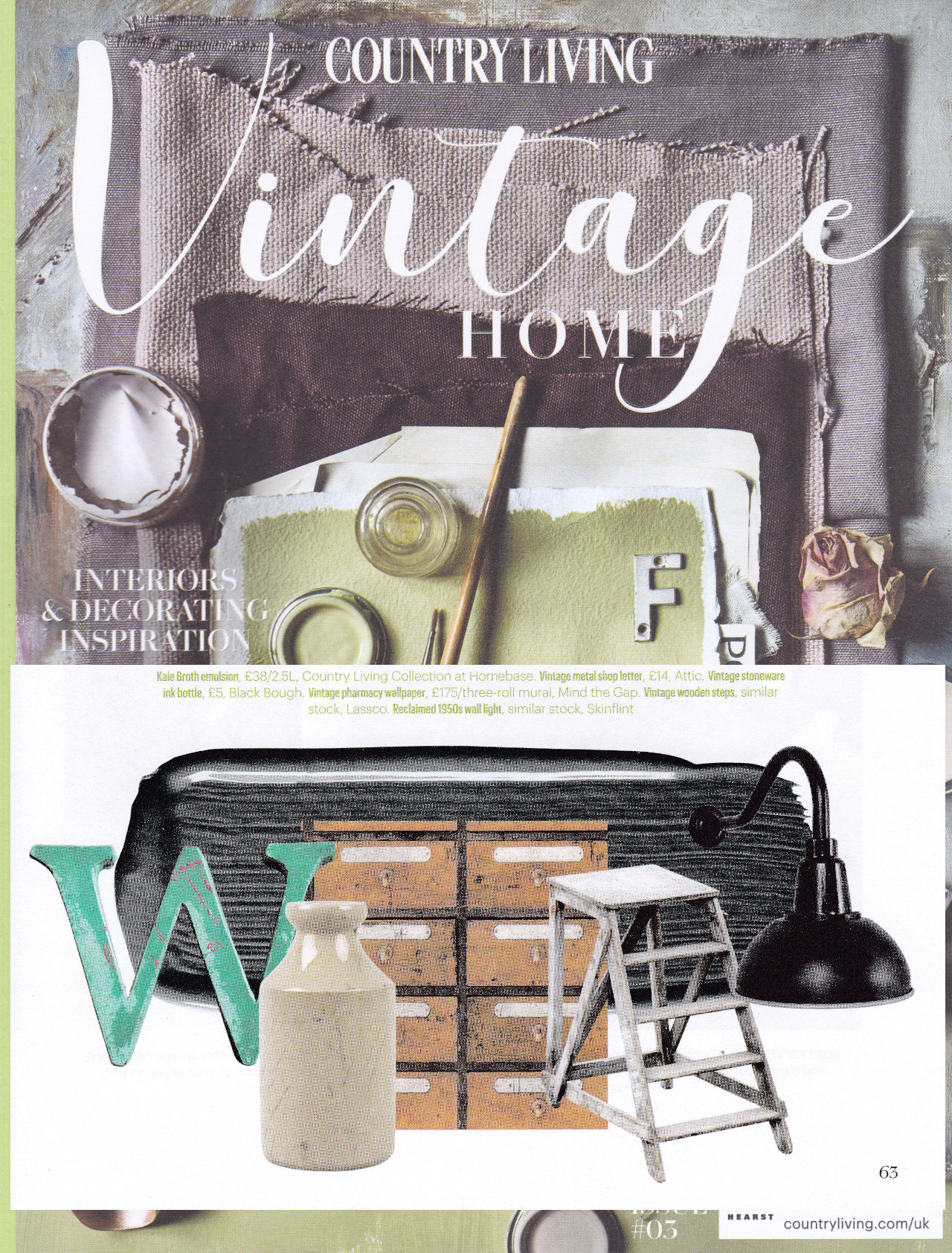 Country Living Vintage Home