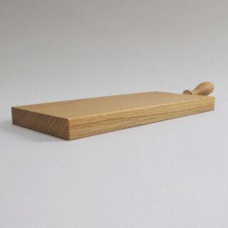 Oak cheeseboard, made in Shropshire