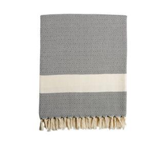 Damla Blanket - Navy