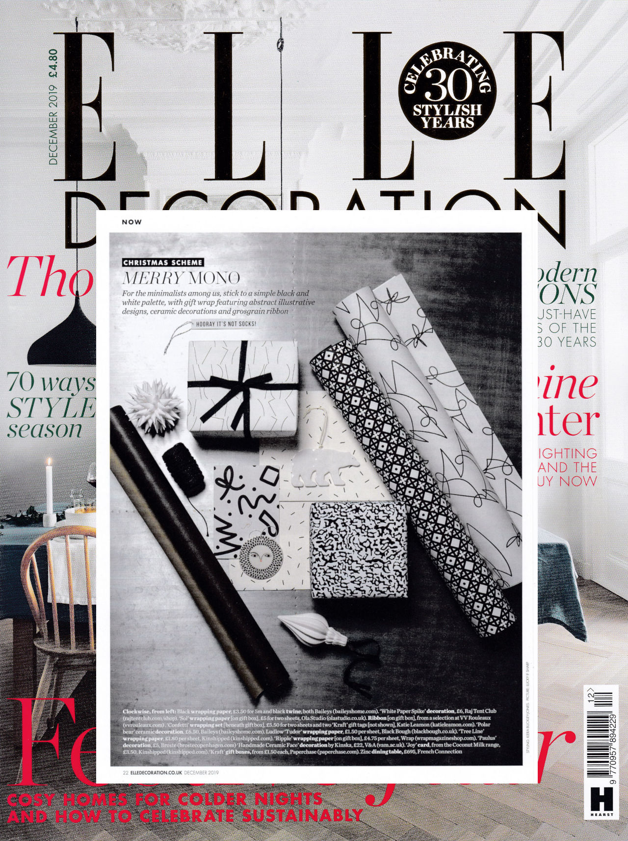 Elle Decoration Cover Dec 19 web stacked