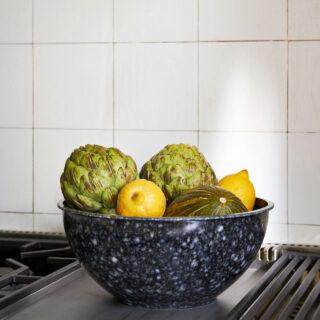 Fleck Bowl - Marbled Grey