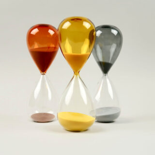 Glass Sand Timer by HAY - Large