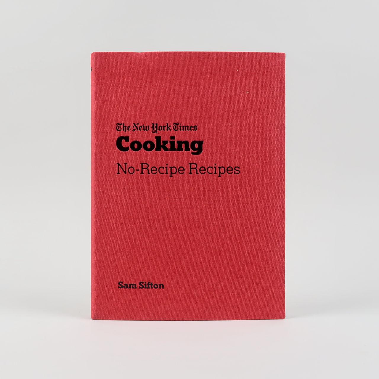 No Recipe Recipe NY Times