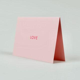 Foil Blocked Love Card