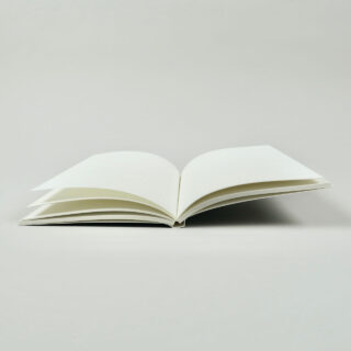 A5 Layflat Notebook - Grey - Dotted Pages