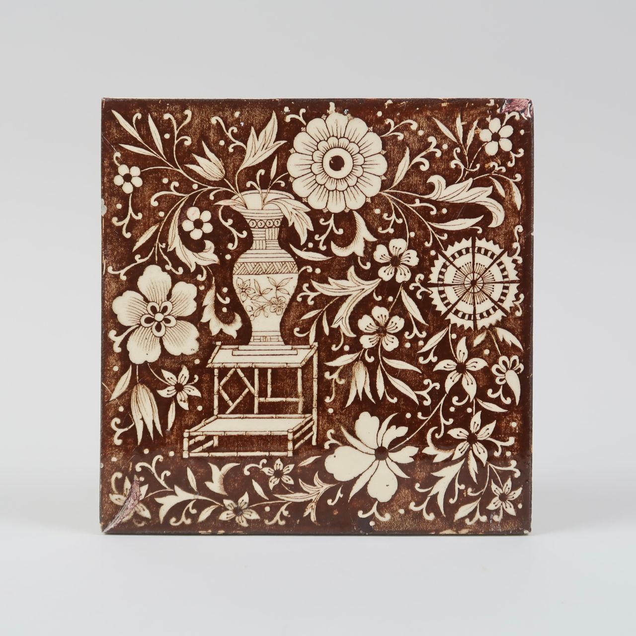 Brown Wall Tile