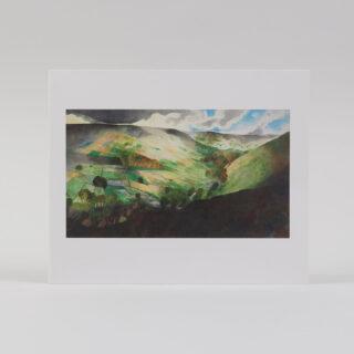Landscape, Dartmoor by Edward Burra