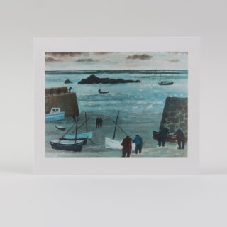 Harbour Walls by Biddy Picard