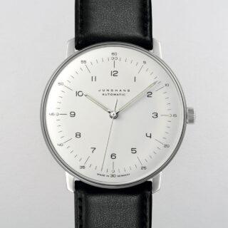 Junghans Max Bill Ref. 027/3500.00 steel wristwatch