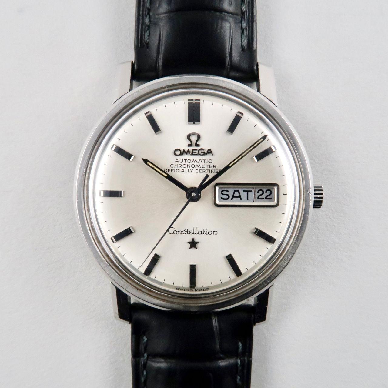 Omega Constellation Ref. 168.016 steel vintage wristwatch, circa 1970