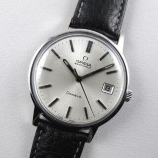 Omega Genève Ref. 166.0163 steel vintage wristwatch, circa 1973