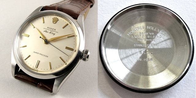 Early Rolex Oyster Air King 5500 With Calibre 1530