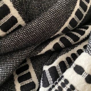 Sefa Organic Cotton Peshtemal - Noir