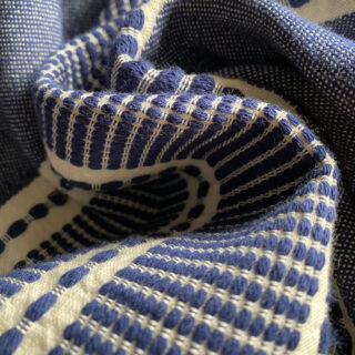 Sefa Organic Cotton Peshtemal - Navy