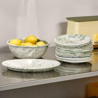 Soft Ice Oval Dish