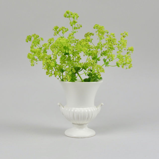 Small Wedgwood Campana Vase - White