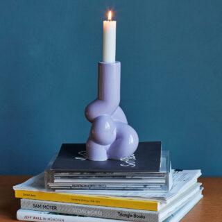 Soft Candleholder - Lavender