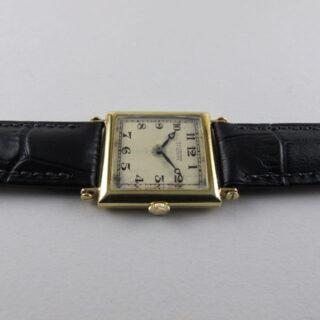 Gold Audemars Piguet vintage wristwatch, made in 1918