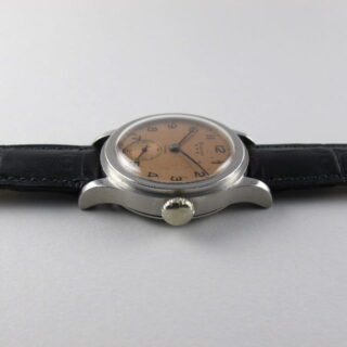 Steel Longines Ref. 21709 vintage wristwatch, circa 1942