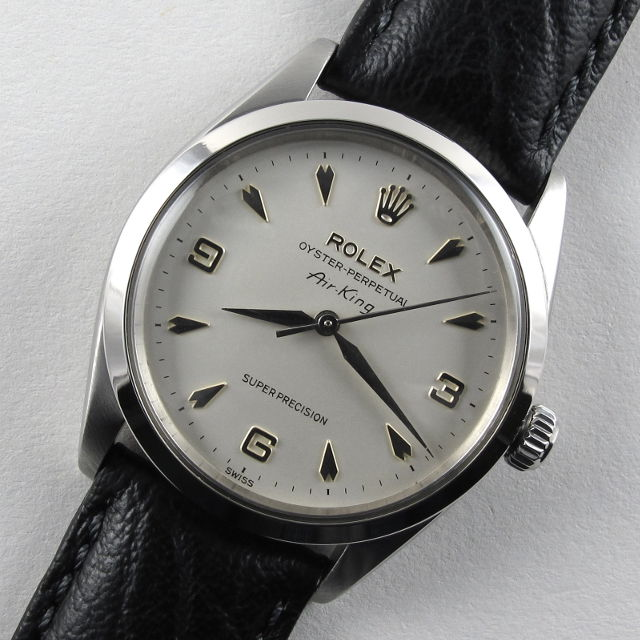 4fadcccb6c60d Home Watches Sold Watches Rolex Oyster Perpetual Air-King Super Precision  Ref. 5500 vintage wristwatch