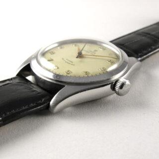 Steel Tudor / Rolex Oyster Prince Ref. 7809 vintage wristwatch, circa 1952