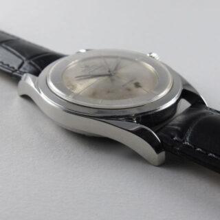Steel Universal Polarouter Ref. 20217 -3 vintage wristwatch, circa 1954