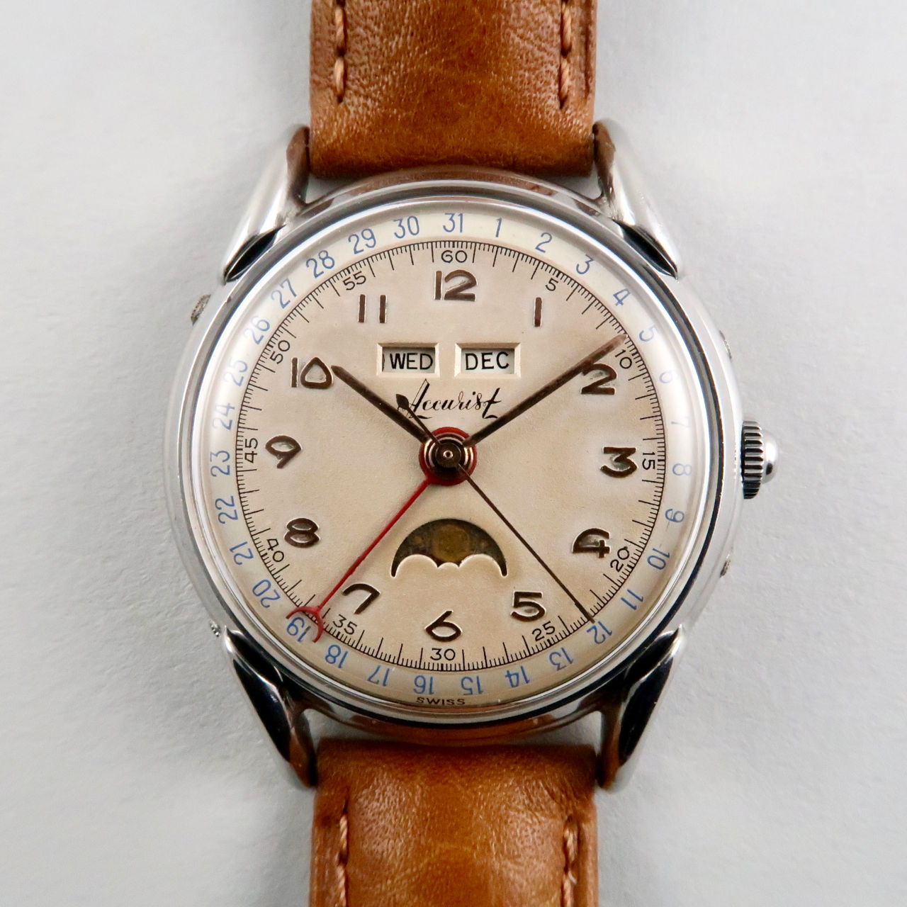 Accurist vintage wristwatch, circa 1950