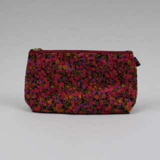 Liberty Print Fabric Cosmetic Bag - Wiltshire