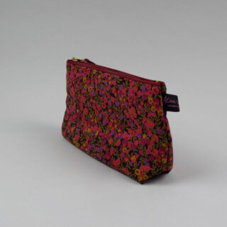 Liberty Print Fabric Cosmetic Bag - Wiltshire