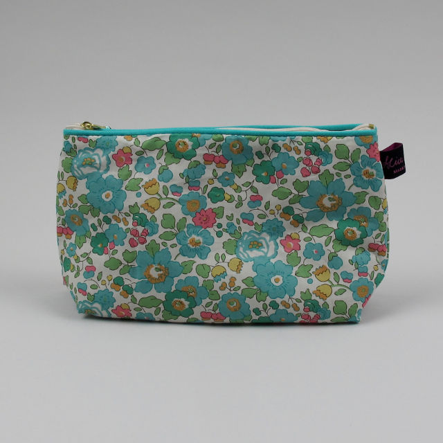 Liberty Print Fabric Cosmetic Bag - Betsy