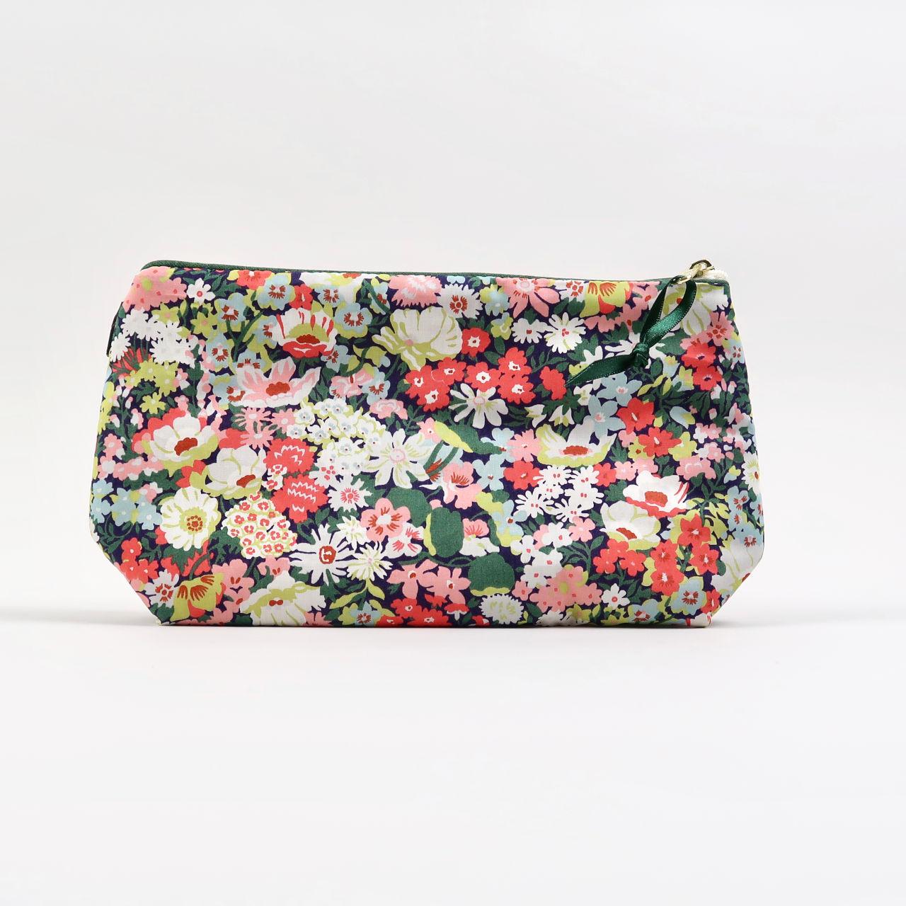 Liberty Print Cosmetic Bag - Thorpe Meadow