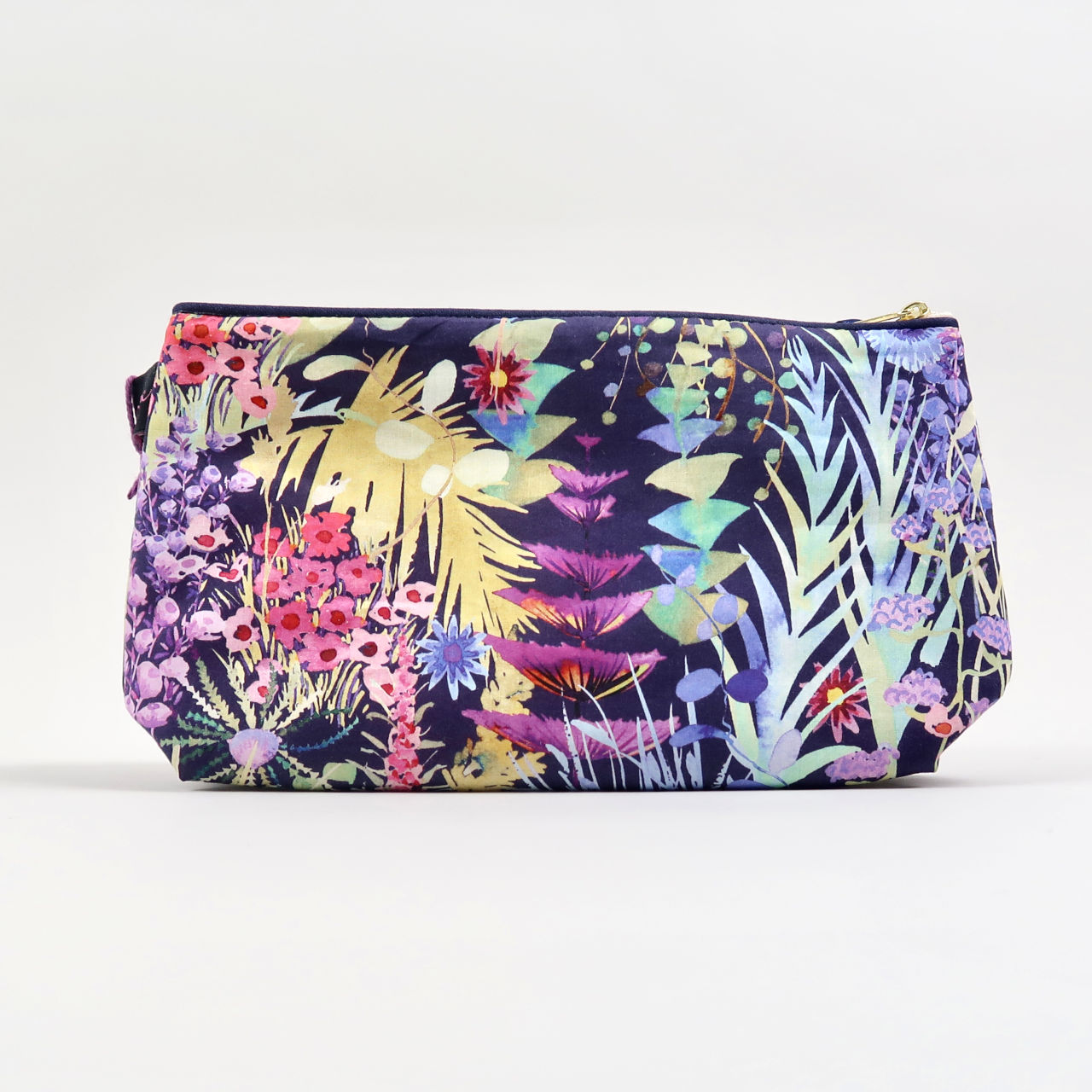 Liberty Print Cosmetic Bag - Tresco Evening