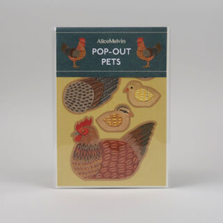 Pop-Out Pets by Alice Melvin - Chicken