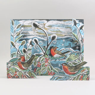 Midwinter Robins Advent Calendar by Angela Harding