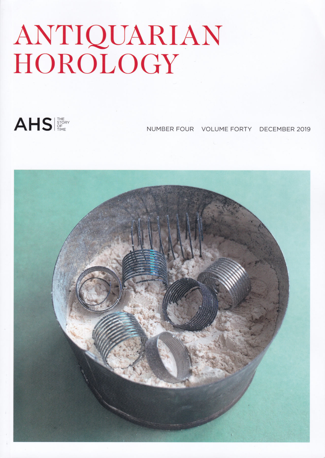 antiquarian horology cover web