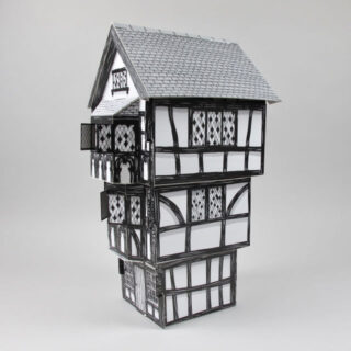 Archi types tudor house black bough ludlow - What makes a house a tudor ...