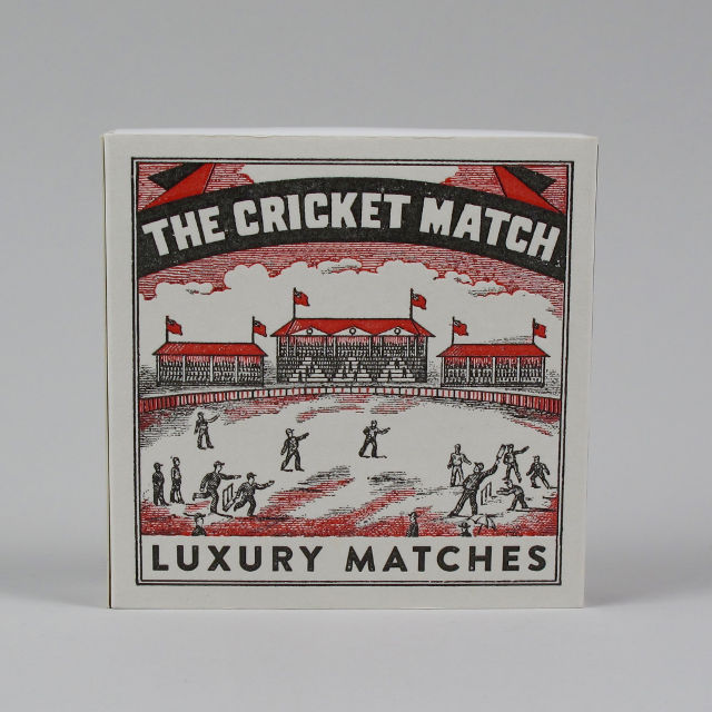 Big Box of Matches - Cricket Match