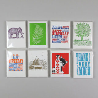 Archivist Pack Of 6 Letterpress Cards Cogc6 11