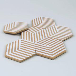 Table Tiles - Optic White