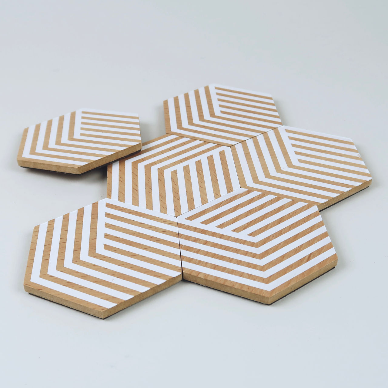 Table Tiles - Optic White