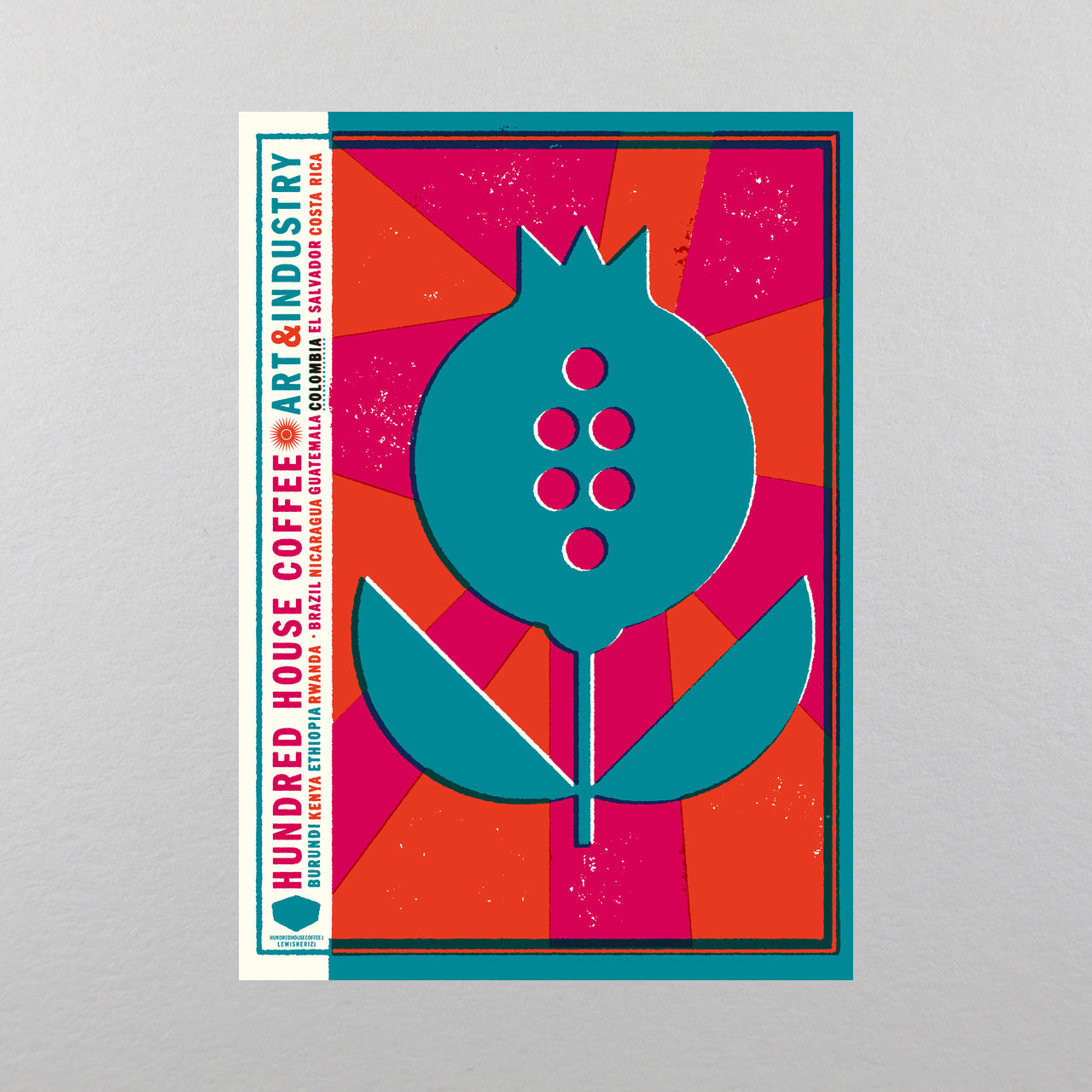 Art & Industry Print - Colombia