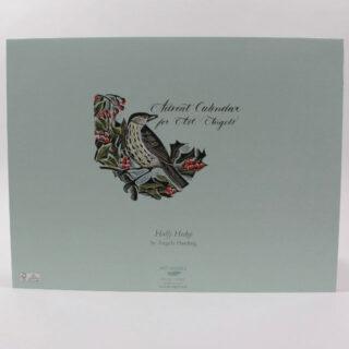 Holly Hedge Advent Calendar by Angela Harding