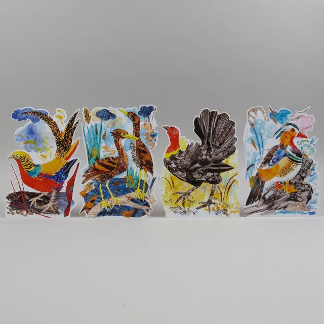 Mark Hearld 3D Bird Card
