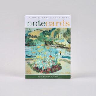 Set of 10 Winifred Nicholson Notecards - Cumberland Flowers / Summer
