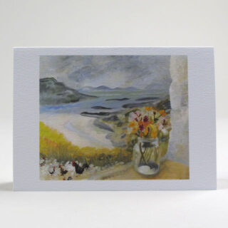 Set of 10 Notecards by Winifred Nicholson - Cheeky Chicks and View from Gavin Maxwell's