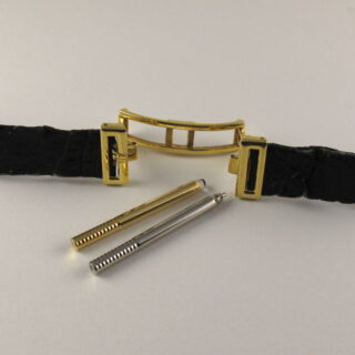 Gold Audemars Piguet Quantième Pérpétuel Automatique Ref. BA 5548 No. 274 vintage wristwatch, made in 1980