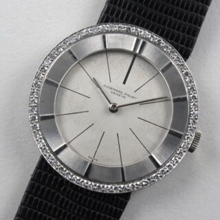 Audemars Piguet Ref. 5129 platinum vintage wristwatch, made in 1959 and sold in 1961