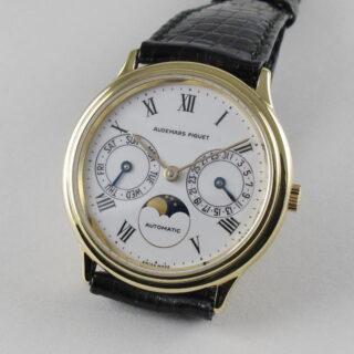 Gold Audemars Piguet Ref. BA 25589 vintage wristwatch, circa 1990
